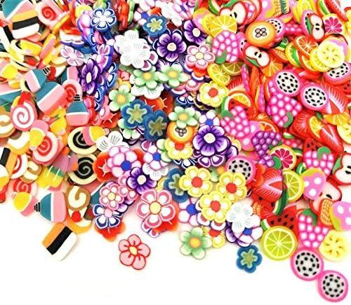 fournitures de f/ête faites maison Kit de fabrication de Slime Slime pour bricolage breloques pots /à paillettes contenants Paquet de 88 boules en mousse de polystyr/ène perles artisanat