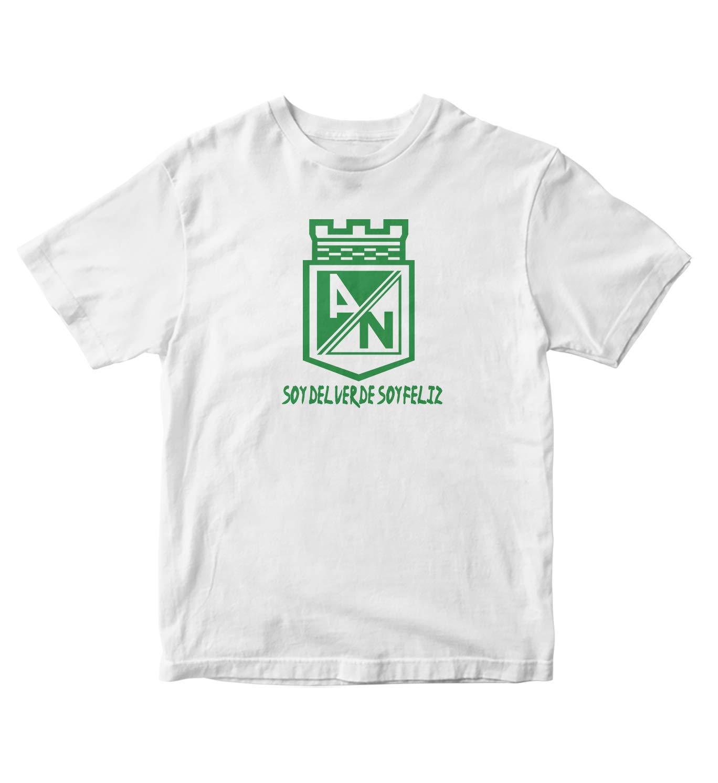 Club Atletico Nacional De Colombia S Shirt Soy Del Verde Soy Feliz