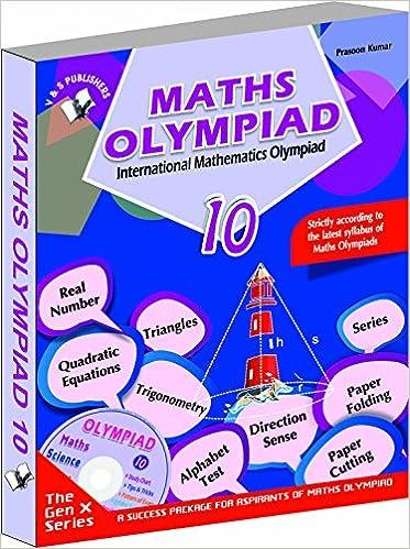 Buy International Maths Olympiad - Class 10 with CD