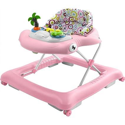 Girello Sonoro Per Bambini Nunù Positano Rosa Amazon It Prima Infanzia