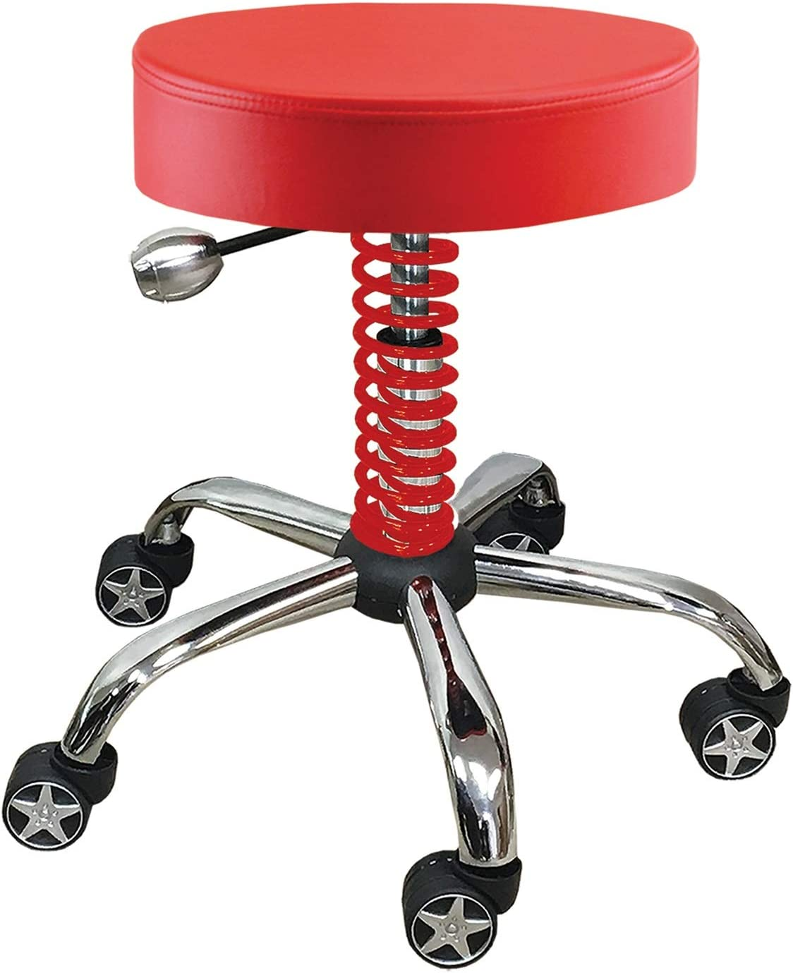 PITSTOP RGS3500R Red Rolling Garage Stool