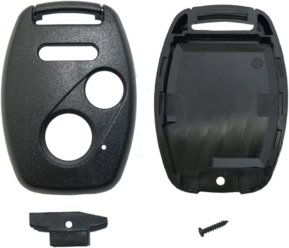 4 Button Remote Key Shell Case with Screw For 05-11 Honda Accord Civic CR-V