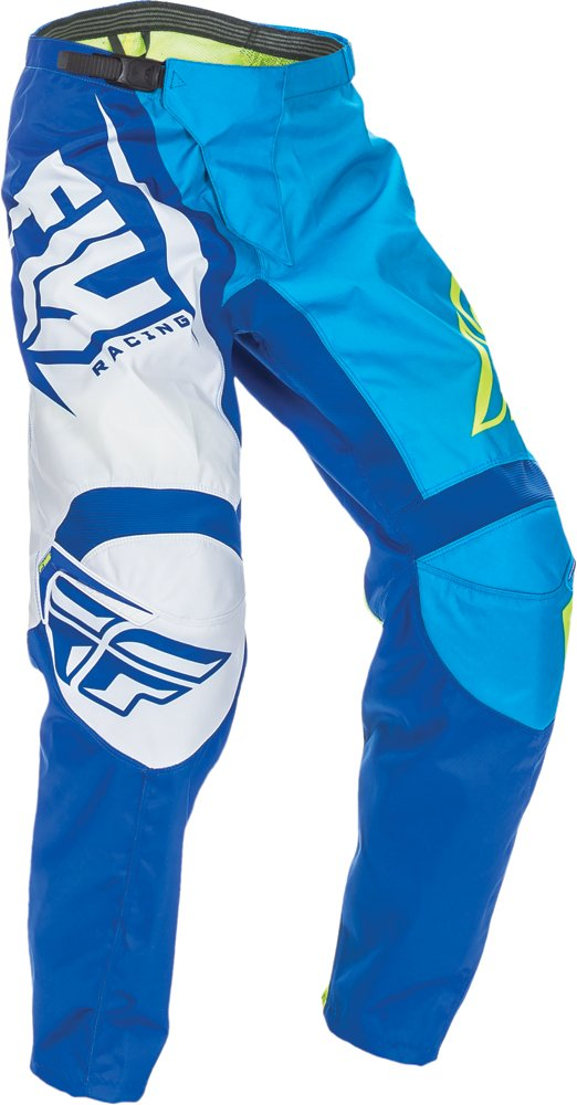 Fly Racing Unisex-Adult F-16 Pants (Blue/Hi-Vis, Size 38)