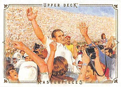- Don Shula Football Card (Miami Dolphins, 1972 Perfect Season) 2008 Upper Deck Masterpieces #23