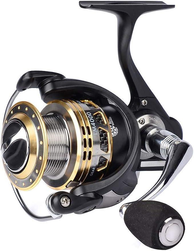 SXC Carrete de Pesca Spinning 13+1BB Rodamientos de Bolas ...