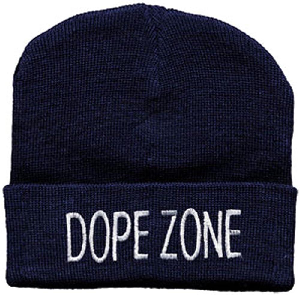 Hip-hop gorra gorro de lana con bordando - Dope Zone - (54114 ...