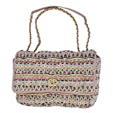Chanel Tweed Multicolor Chain Shoulder Bag A93603