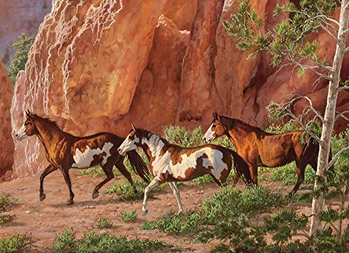 COBBLE HILL Horse Canyon Jigsaw Puzzle (1000 Piece)