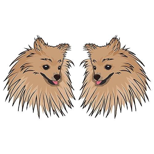 Pomeranian Car Stickers And Decals Amazon Com