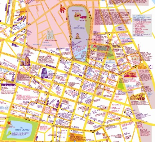 Amazon.in: Buy Xin Chao! Map of Hanoi (A Nancy Chandler style map ...