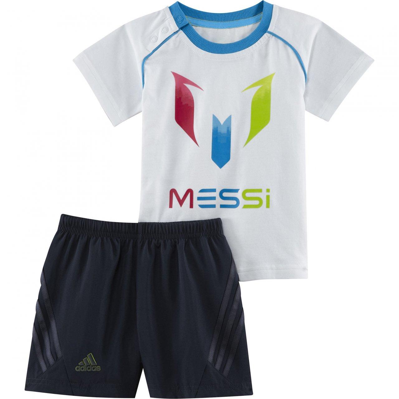 adidas - Chándal para niños Messi Juego Wht/Solblu, 74: Amazon.es ...