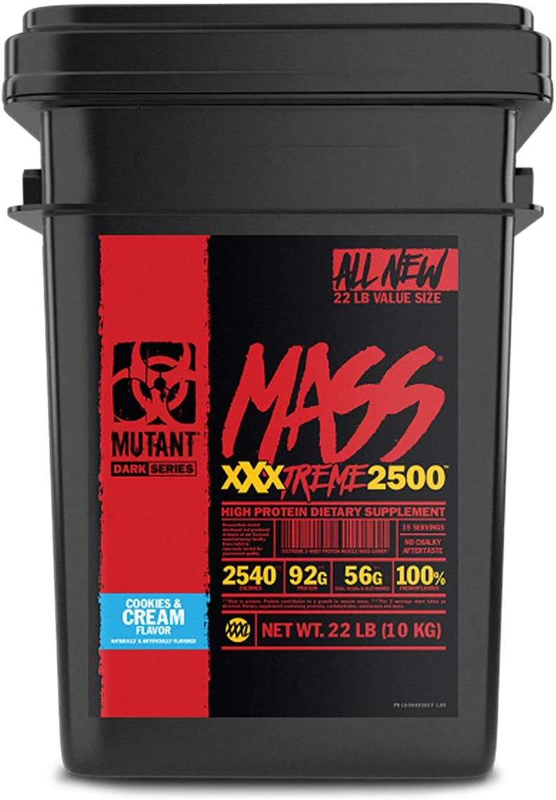 Mutant Mass Xxxtreme 2500 Cookies y Cream - 9988 gr