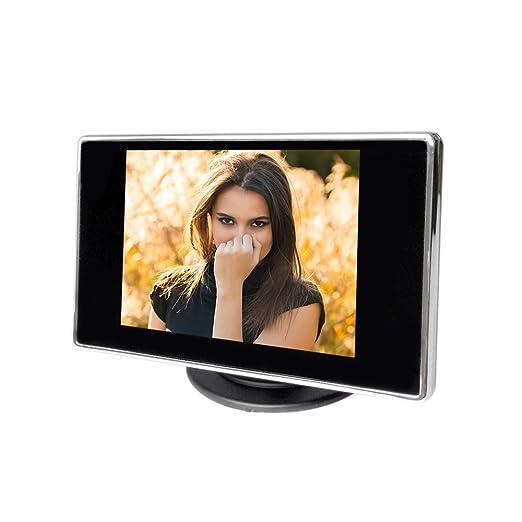 """9 opinioni per KKmoon 3.5 """"Definizione Hign LCD Car auto colori TFT monitor con ingresso AV,"""