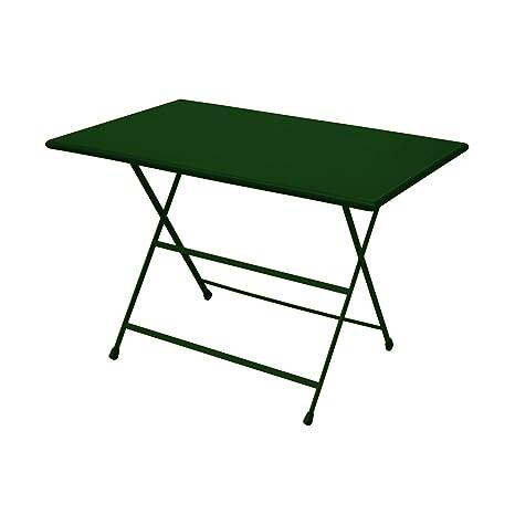 Emu Arc en Ciel Table Pliante rectangulaire - 110 x 70 cm ...