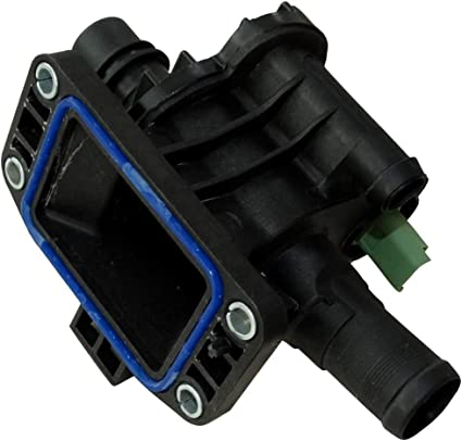 AERZETIX: Caja de salida motor termostato 82°C líquido de ...