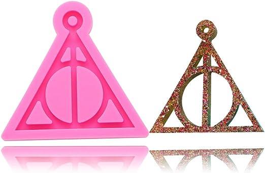 Colgante de silicona con el logotipo de Harry de las Reliquias de ...