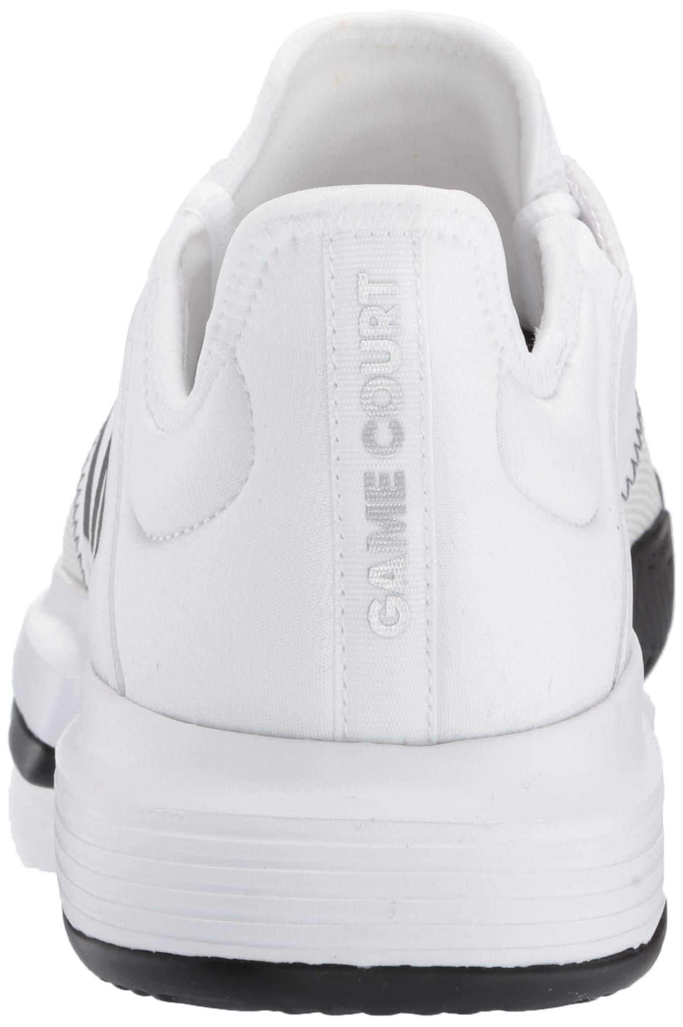 adidas Men's Gamecourt, White/Black/Grey 6.5 M US by adidas (Image #2)