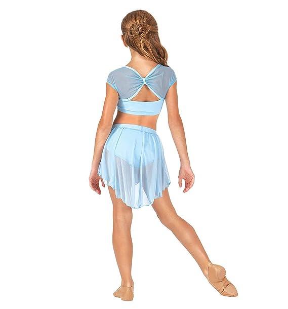 IEFIEL Traje de Bailarina Ballet con Falda Tul Conjunto de Ballet ...
