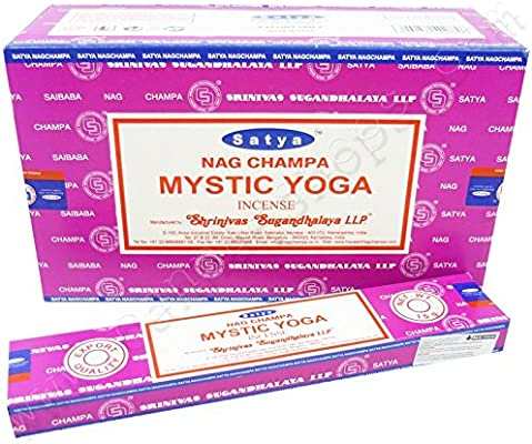 Nag Champa Incienso Mystic Yoga - x1: Amazon.es: Hogar