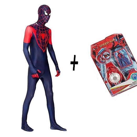 DSFGHE Spiderman Cosplay De Una Pieza Medias 3D Impresión ...