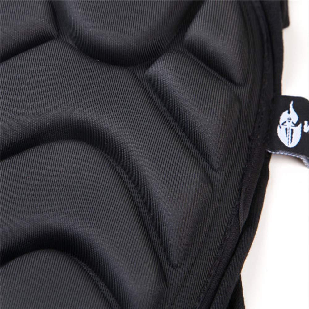 Genouill/ères protectrices Protections de Genou Moto Respirant Respirable Aramid Fibre Motocross VTT Prot/ège-Tibias pour Faire du v/élo de Patinage Taille : M