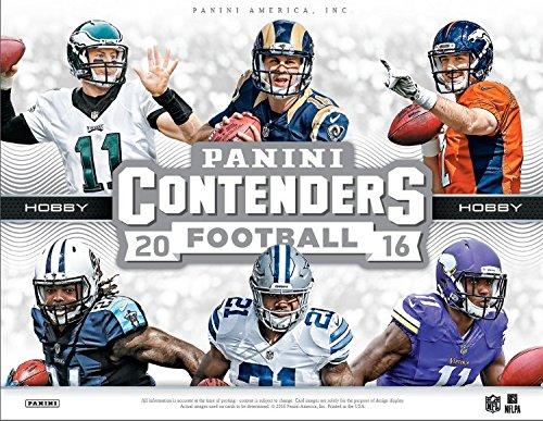 2016 Panini Contenders Football 12 Hobby Box Case (Sealed)