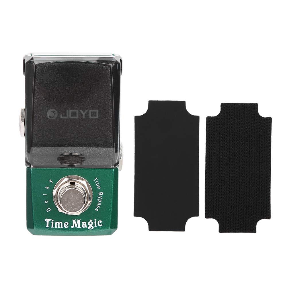 Delay Guitar Effect, RiToEasysports Joyo JF-304 Mini Portable Metal Delay Effect Pedal Accessory for Electric Guitar