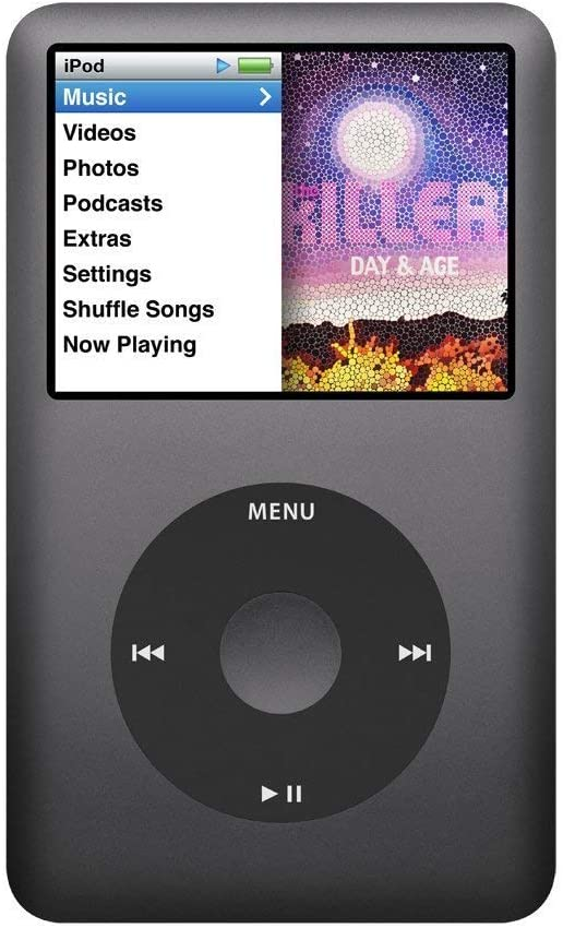 Apple iPod Classic - Reproductor de audio de 512 GB (SSD, 7G, 160 ...
