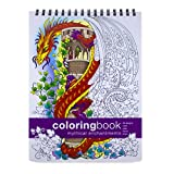 Mythical Enchantments Adult Coloring Book -- Large (8.62 x 11.75 inches)