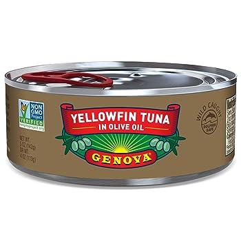 Genova Yellowfin Tuna in Pure Olive Oil