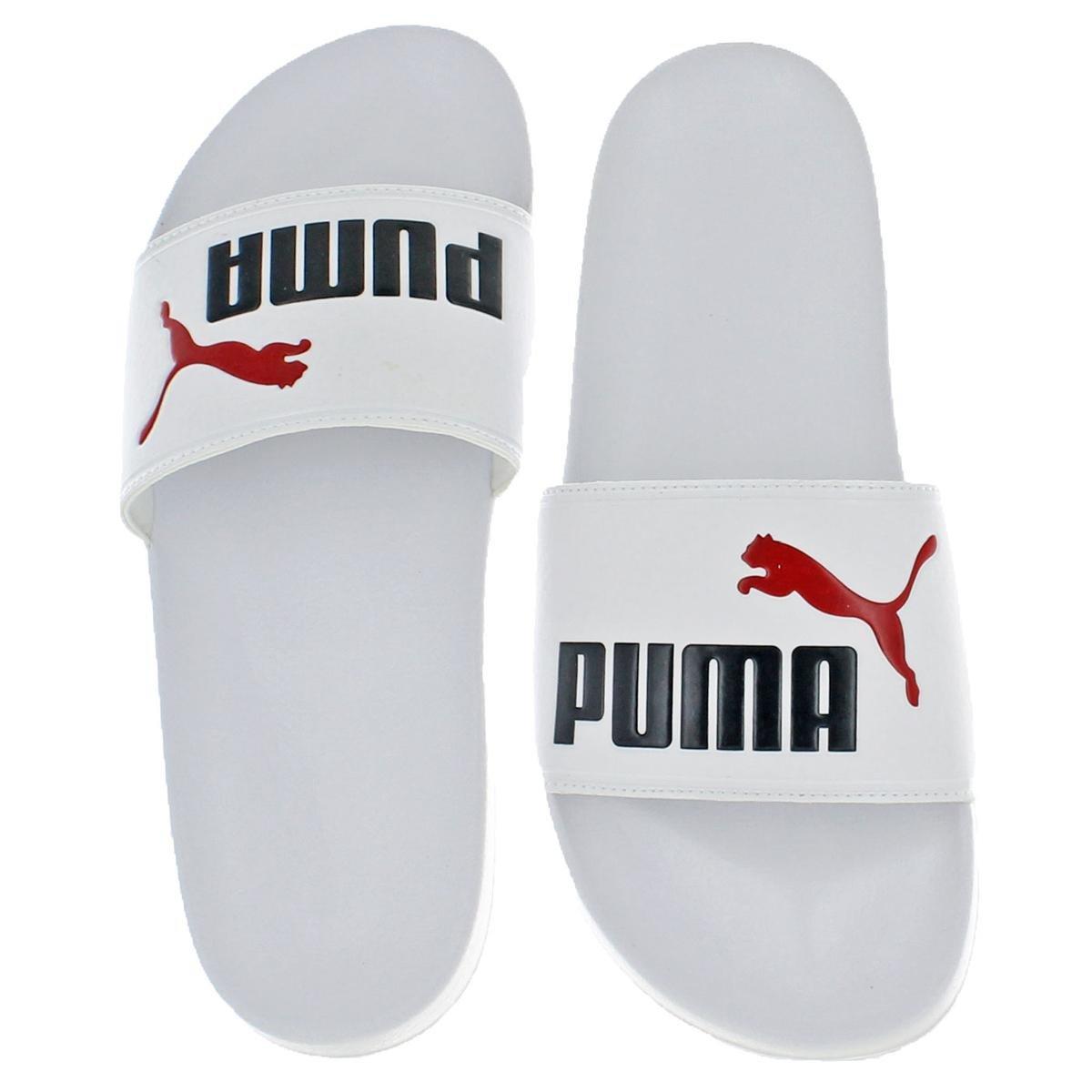 PUMA Men's Leadcat Slide Sandal B07BWG349J 12 M US|Puma White-night Sky