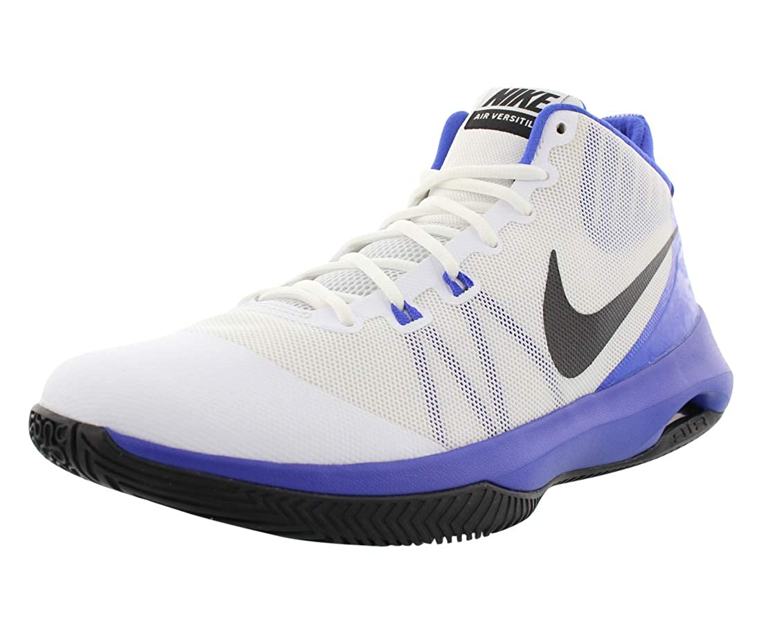 Puede ser ignorado domesticar Para aumentar  Buy Nike Mens Air Versitile Low Top Lace Up Basketball Shoes, White, Size  12.0 at Amazon.in