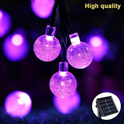 clearance hongxin 30 led solar powered ball bulb string lights light sensor lamp