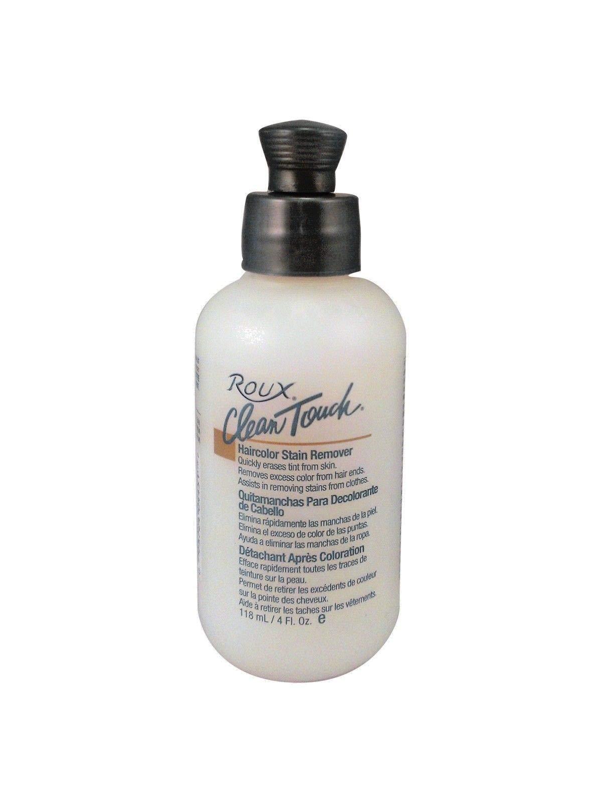 Roux Clean Touch Hair Color Stain Remover 4 oz (1-Unit)