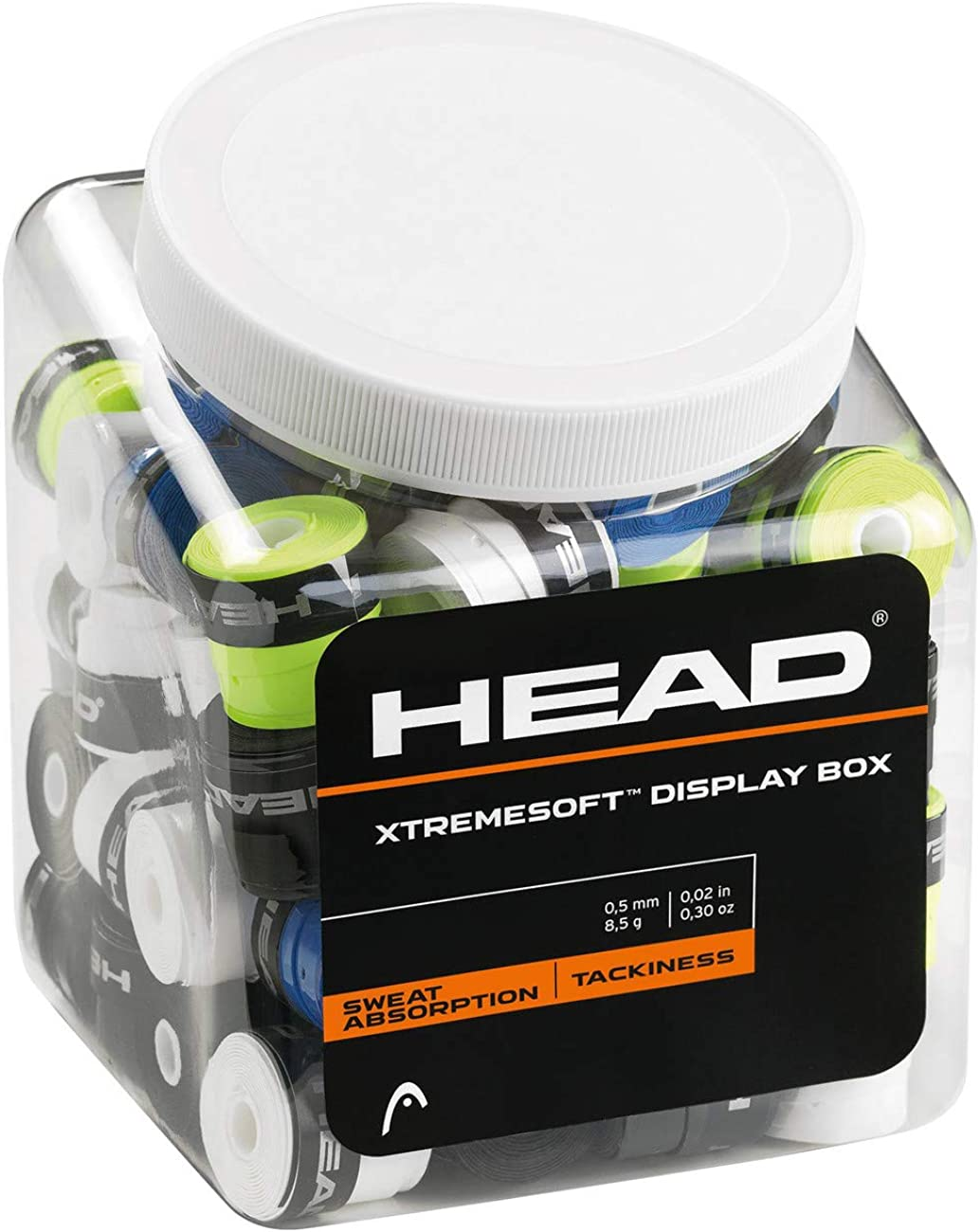 Head Xtremesoft Display Box Pack de Overgrip, Unisex Adulto, Negro ...