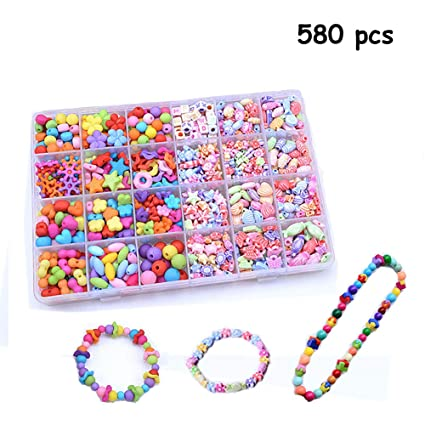Amazon Com Bead Kits Set For Jewelery Making 24 Different Types