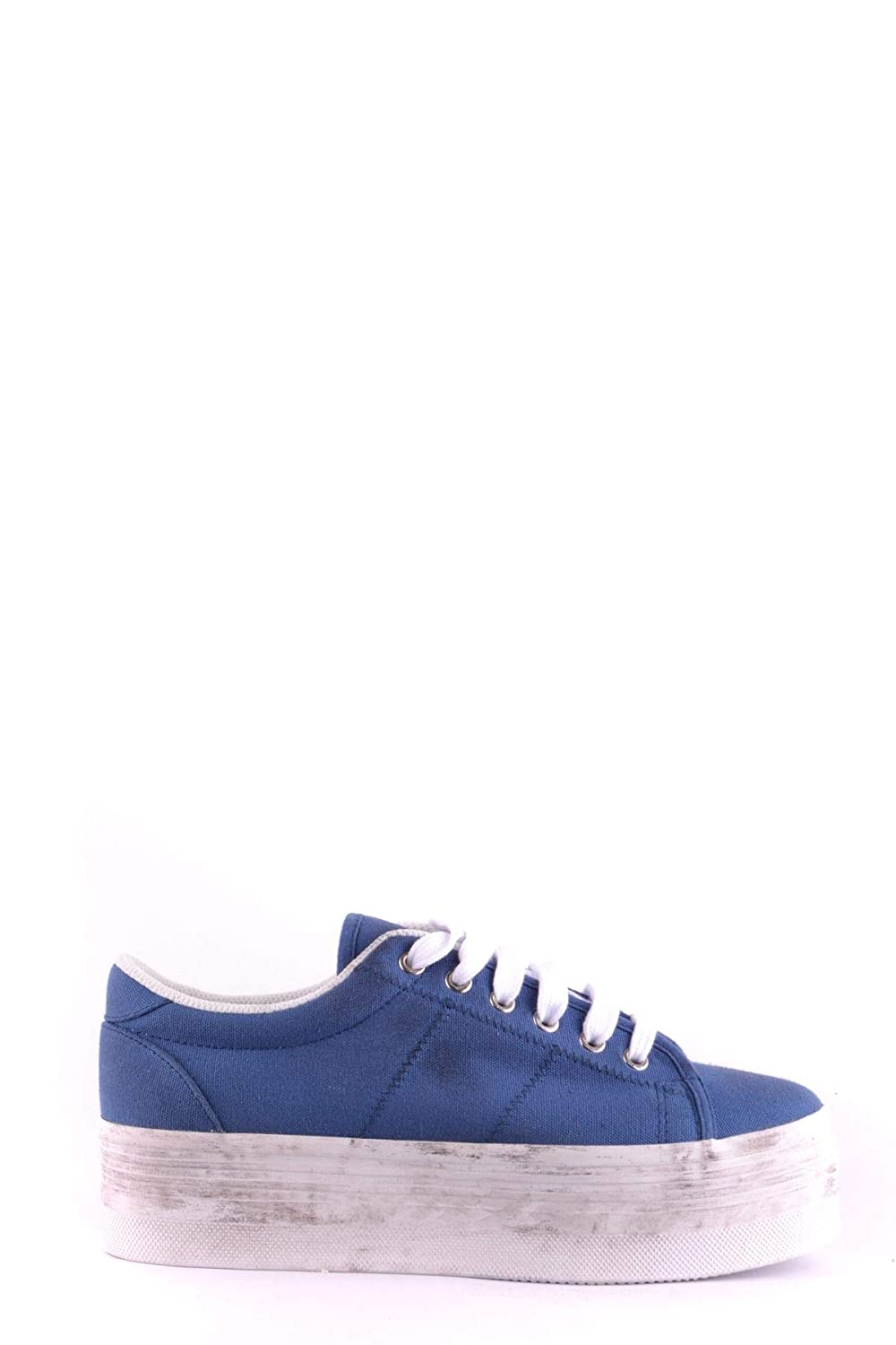 JC PLAY BY JEFFREY CAMPBELL Damen MCBI32650 Blau Stoff Turnschuhe