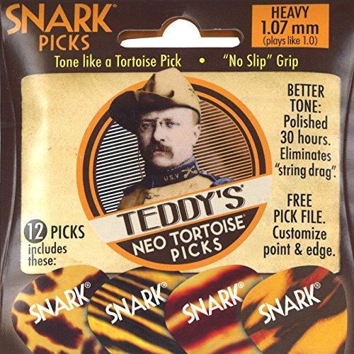 Snark Teddys Tortoise Guitar Picks
