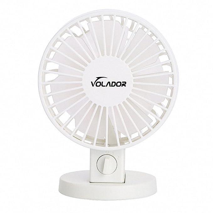 1 opinioni per USB desktop fan, Volador doppio lame ventilatore da tavolo portatile mini