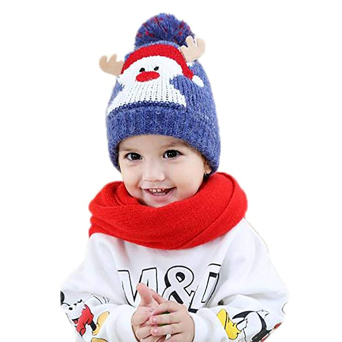Amazoncom Forart Lovely Baby Girls Boys Winter Warm Knitted Hats