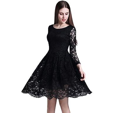 Abendkleider knielang schwarz
