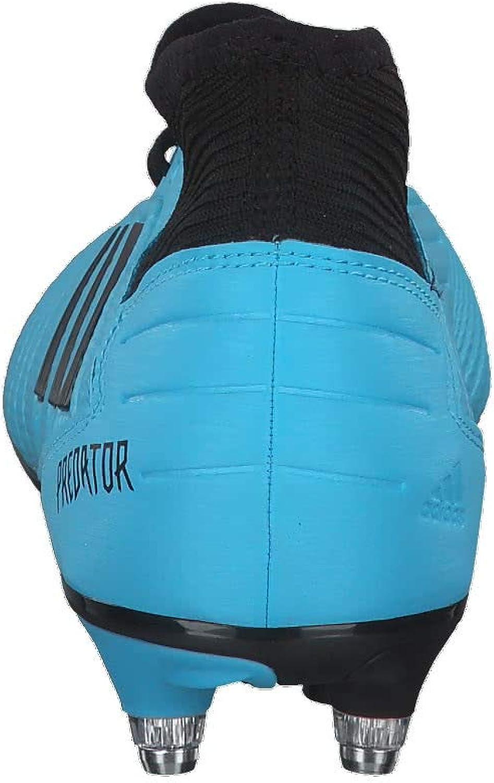 adidas Herren Predator 19.3 Sg Fußballschuhe Mehrfarbig (Bright Cyan/Core Black/Solar Yellow Ef8033)