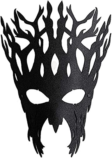 Elegant Beast Black Mask Fancy Dress Masquerade Costume Party Mardi Gras