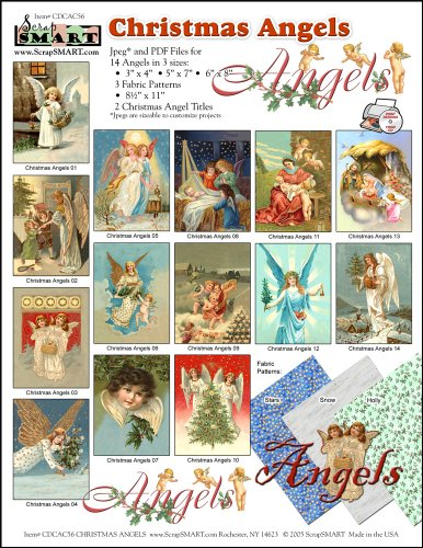 ScrapSMART - Christmas Angels Art Software Collection for Mac [Download]