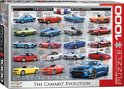 EuroGraphics Chevrolet the Camaro Evolution Puzzle (1000 Piece)