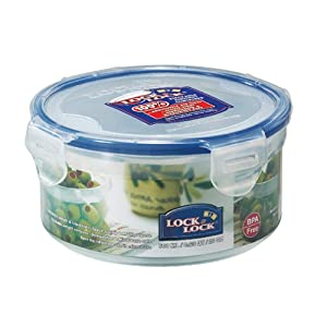 Lock & Lock, No BPA, Water Tight, Food Container, 2.5-cup, 20-oz, HPL933