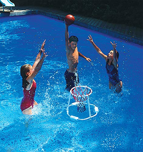 Swimline Super Hoops Floating Basketball Game - Four Seasons Family Ring