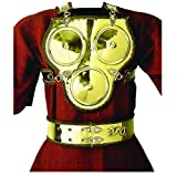 Deepeeka AH6088B Brass Three Disc Armour and Belt - Medieval Costume