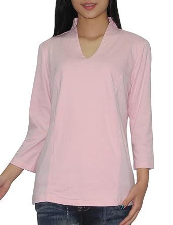334dda4c Amazon.com: Liz Claiborne Womens V-Neck 3/4 Sleeve T Shirt / Tee XL ...