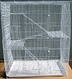 New Large Economical 4 Levels Ferret Chinchilla Sugar Glider Rats Cage For Small Animal or Bird 30''Length x 18''Depth x 36''Height